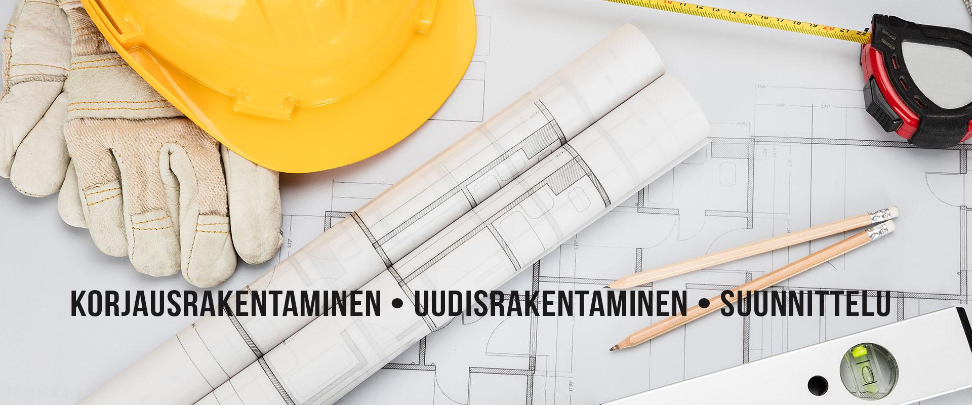 Korjausrakentaminen - Remontit - Uudisrakentaminen - Suunnittelupalvelut